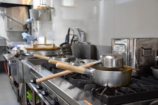 厨房の漏水
