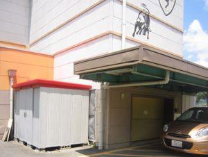 駐車場エレベーターピットの補修